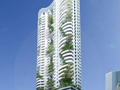 Mẫu thiết kế kiến trúc chung cư hiện đại2