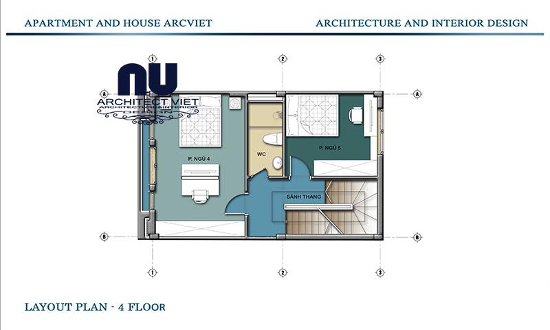 Thiết kế nội thất nhà phố tân cố điển tại Gia Lâm 12
