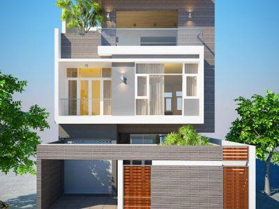 sưu tầm mẫu biệt thự 2 tầng 70m2 kiểu biệt thự mái mini 2