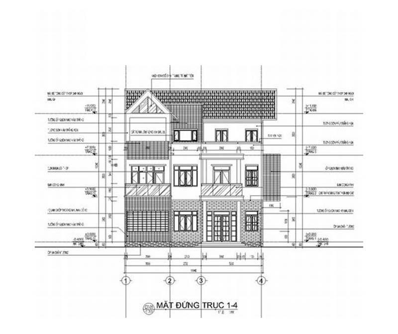 biệt thự hiện đại 3 tầng 180m2 6