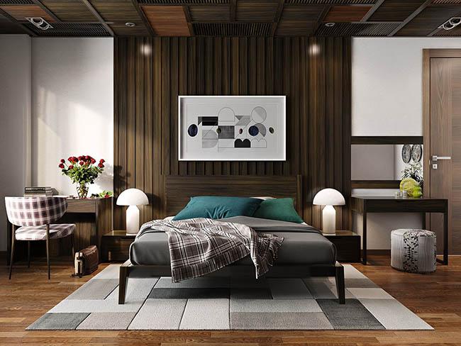 nội thất phòng ngủ cho bố mẹ