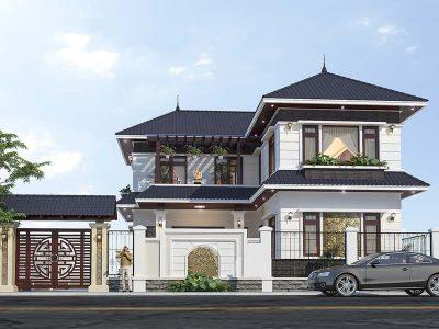Công thức tính diện tích m2 xây dựng nhà 2 tầng