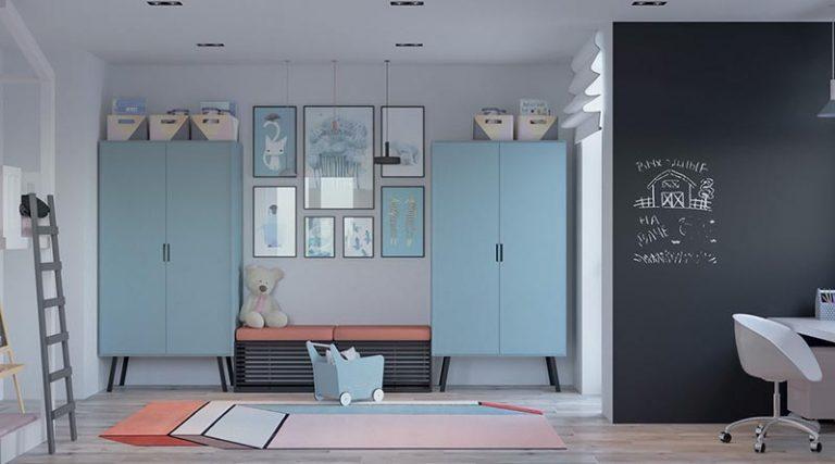 thiết kế nội thất phòng ngủ trẻ