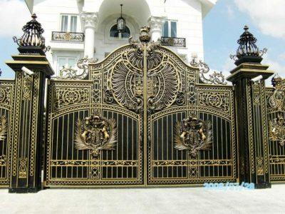 kích thước cửa cổng