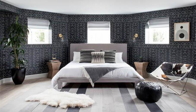 gam màu trung tính thường được ưu tiên trong phòng ngủ