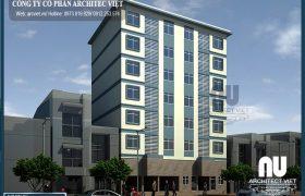 Thiết kế chung cư mini – cho thuê nhà trọ hiện đại tại Architec Việt