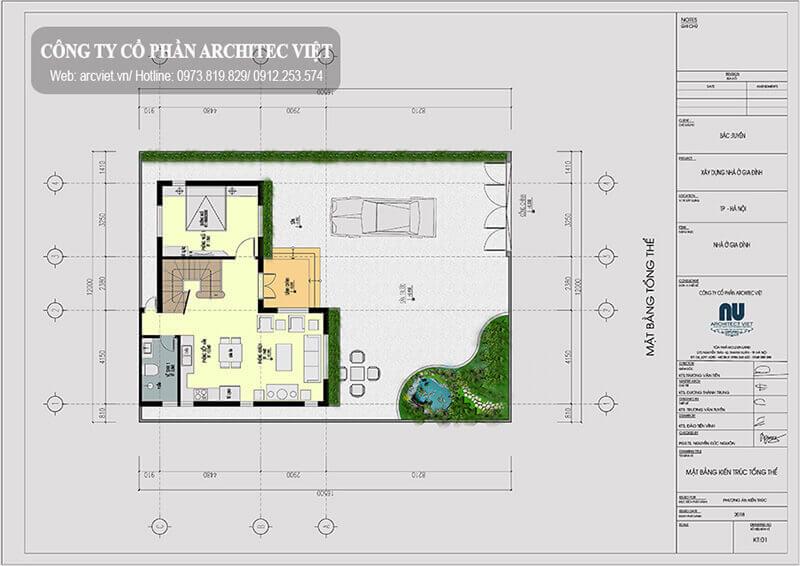 thiết kế công năng hợp lý cho biệt thự tân cổ điển mặt tiền 12m