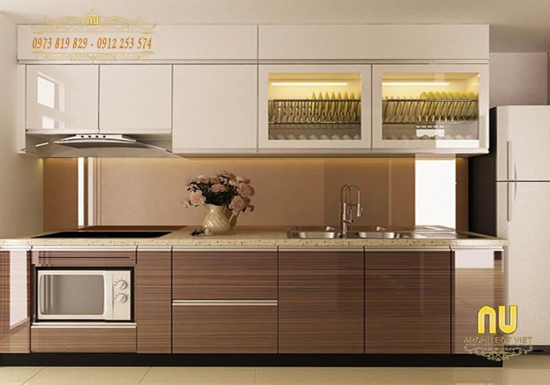 Thiết kế nội thất phòng bếp sang trọng 9