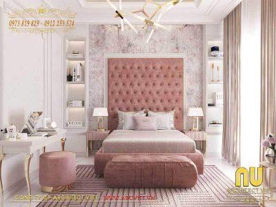 mẫu thiết kế phòng ngủ 15m2