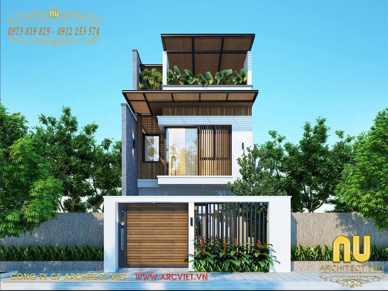 thiết kế nhà ở hiện đại